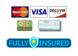 payments accepted - fully insured