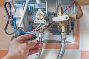 gas hot water heater repairs