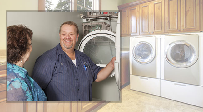 washer dryer repairman