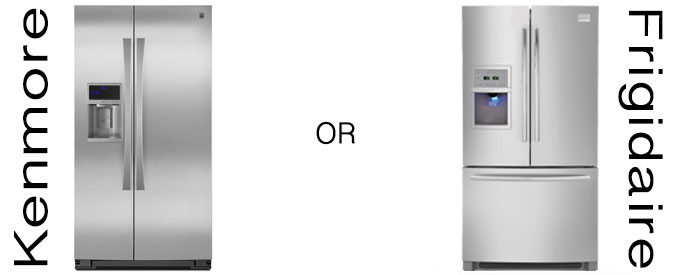 Frigidaire Appliance Logo buy a kenmore refrigerator or frigidaire refrigerator?